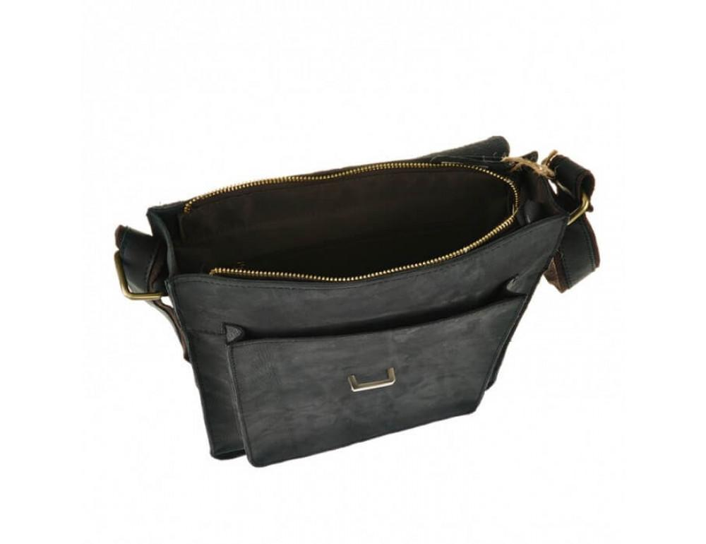 Мужская кожаная сумка через плечо TIDING BAG G2093 - Фото № 5