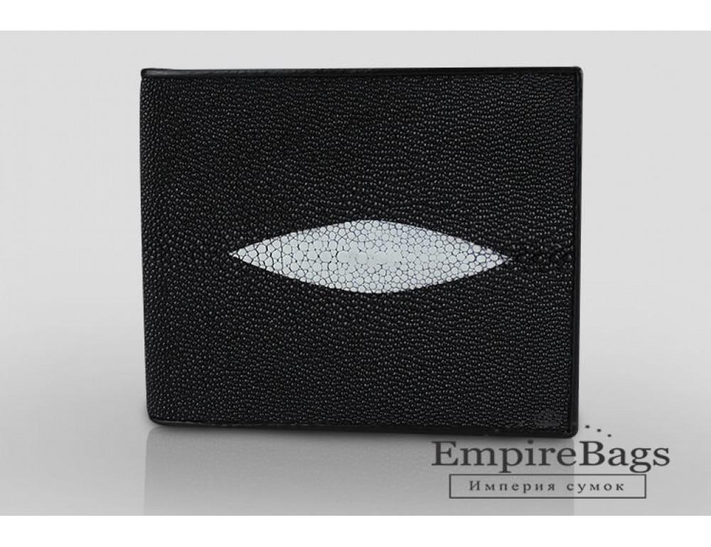 Гаманець зі шкіри ската Sarlisi SR-0035 чорний