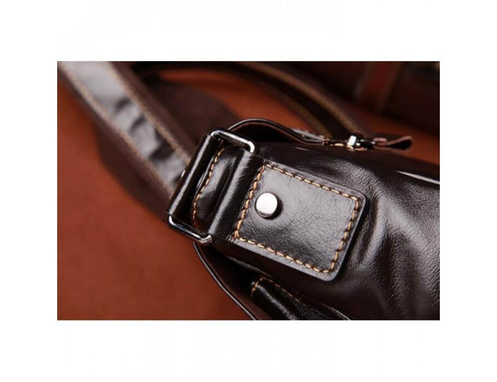Мужская кожаная сумка на плечо Bexhill (England) L-0149 - Фото № 9