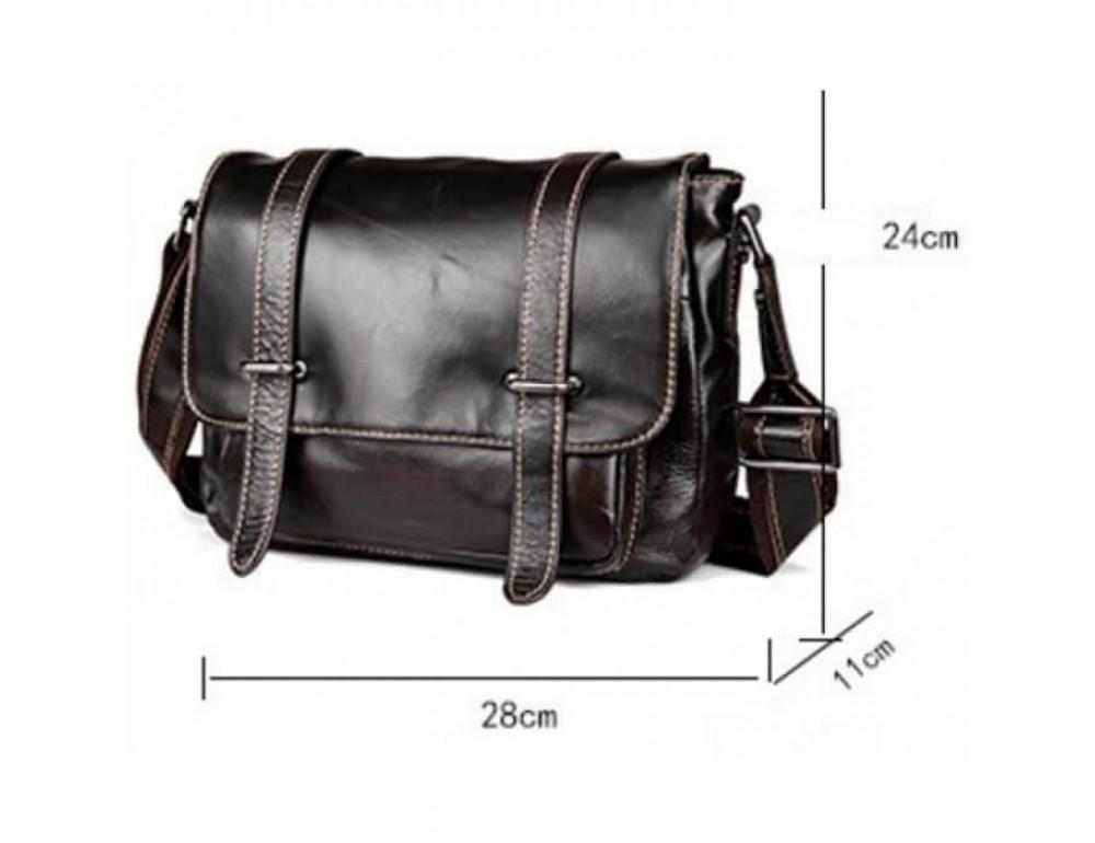 Мужская кожаная сумка на плечо Bexhill (England) L-0149 - Фото № 3