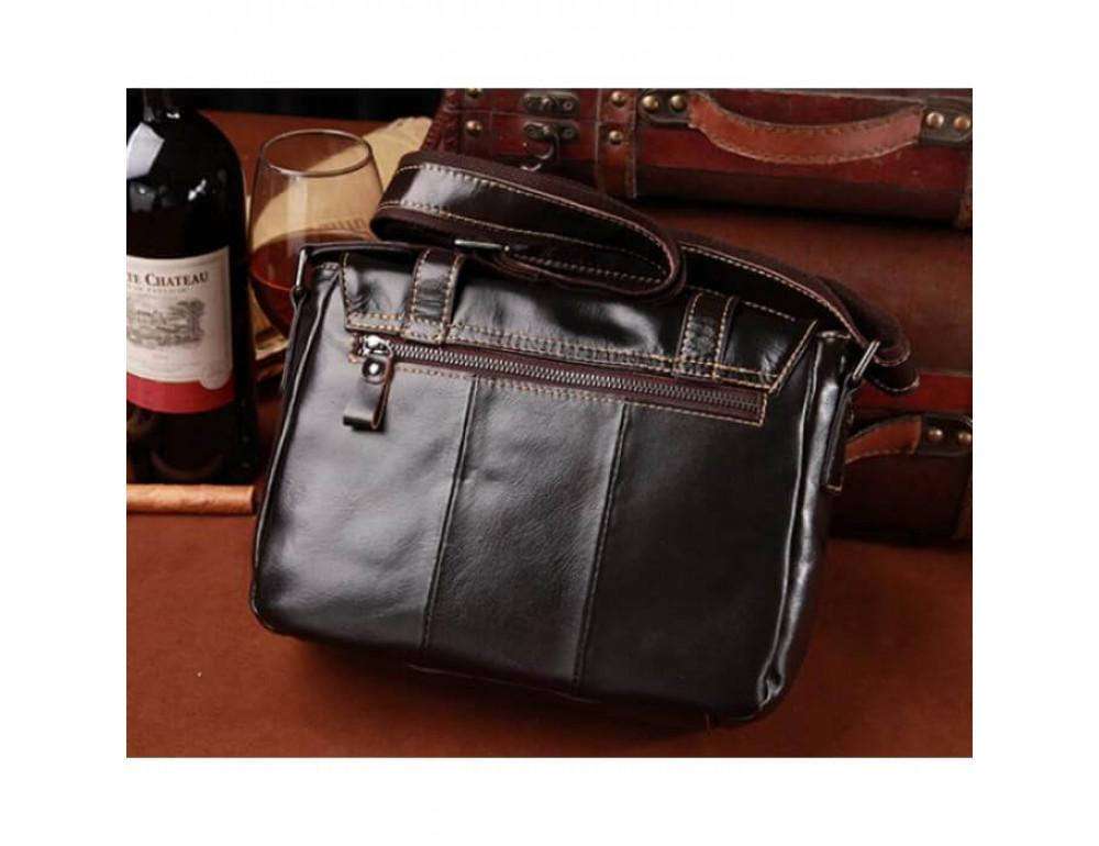 Мужская кожаная сумка на плечо Bexhill (England) L-0149 - Фото № 2