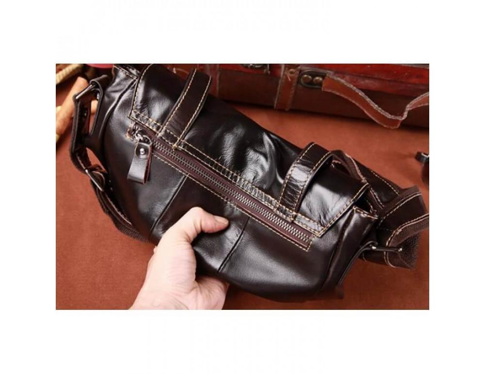 Мужская кожаная сумка на плечо Bexhill (England) L-0149 - Фото № 4