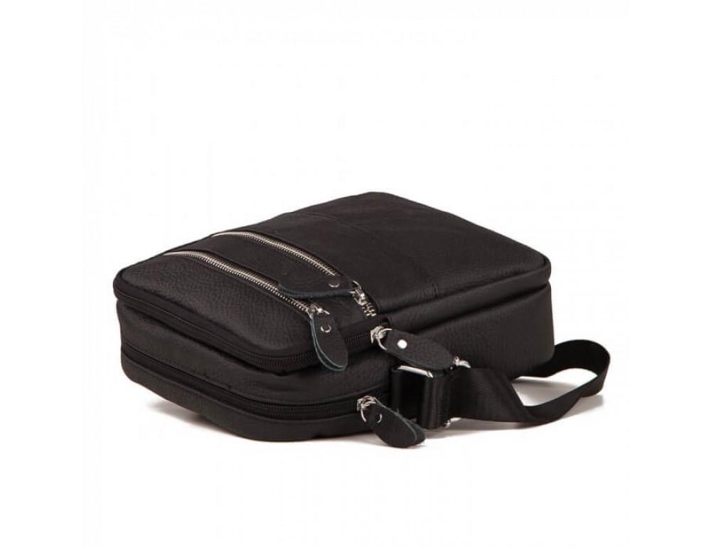 Мужская кожаная сумка-мессенджер  TIDING BAG M38-3923A - Фото № 4