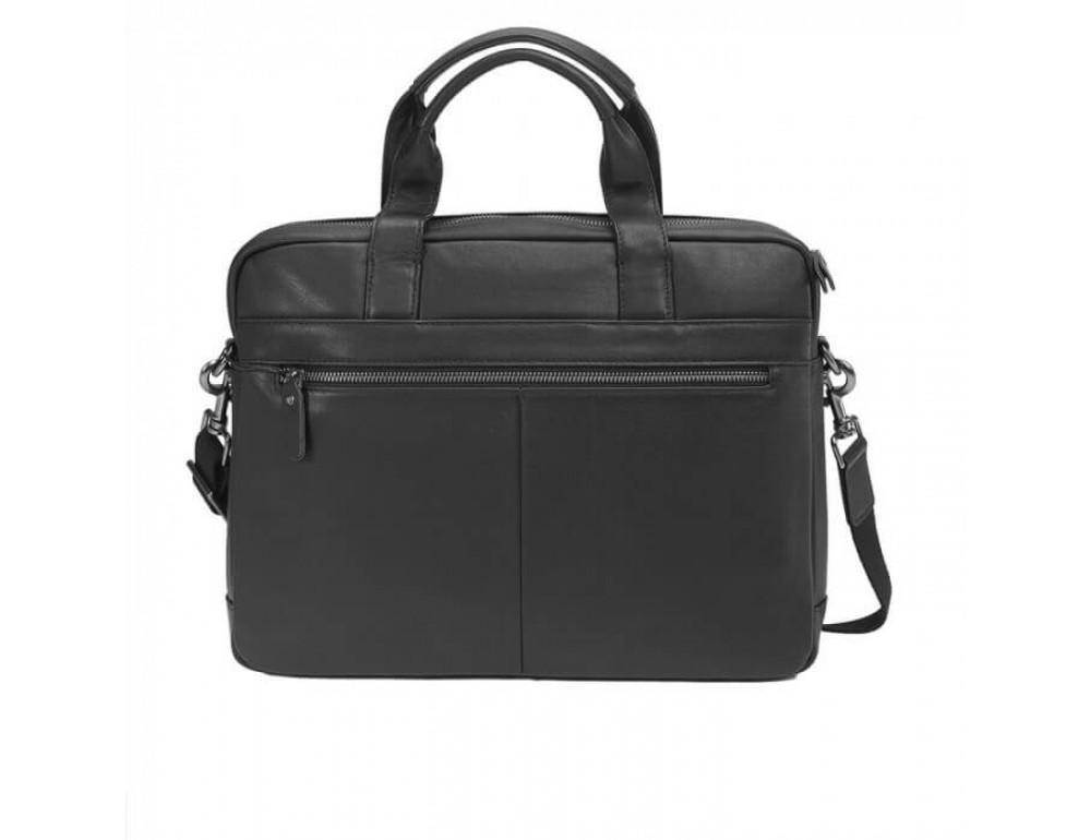 Мужская кожаная сумка под макбук TIDING BAG M47-1609A - Фото № 3