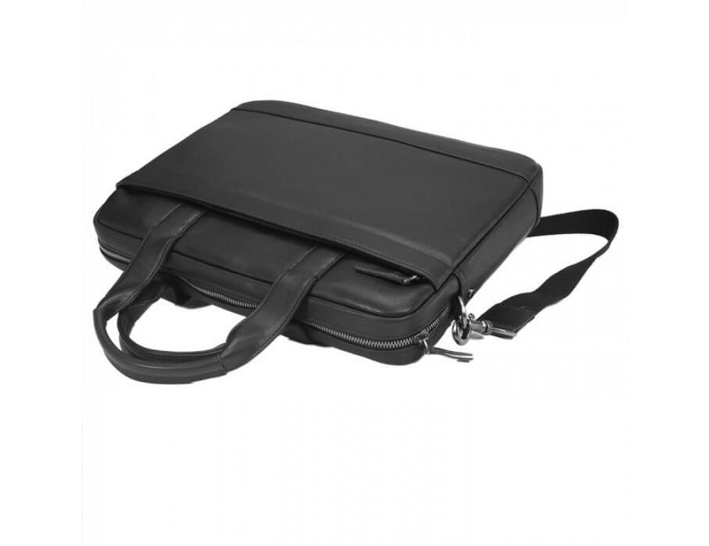 Мужская кожаная сумка под макбук TIDING BAG M47-1609A - Фото № 4