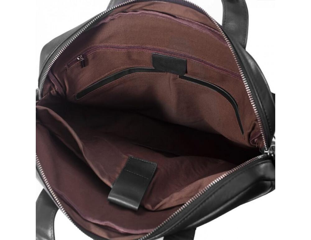 Мужская кожаная сумка под макбук TIDING BAG M47-1609A - Фото № 6