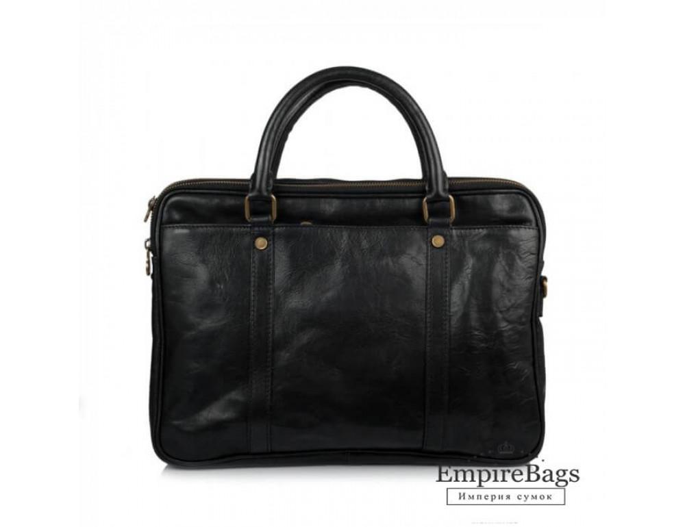Мужская кожаная сумка Virginia Conti VCM0502BLACK - Фото № 2