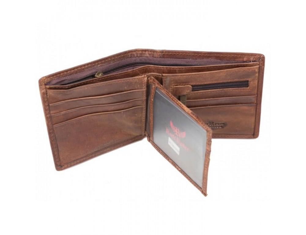 Мужской кожаный кошелёк Ruff Ryder RR-38231W - Фото № 2