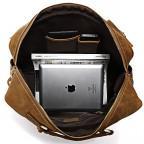 Мужская сумка TIDING BAG 7028B коричневая - Фото № 103