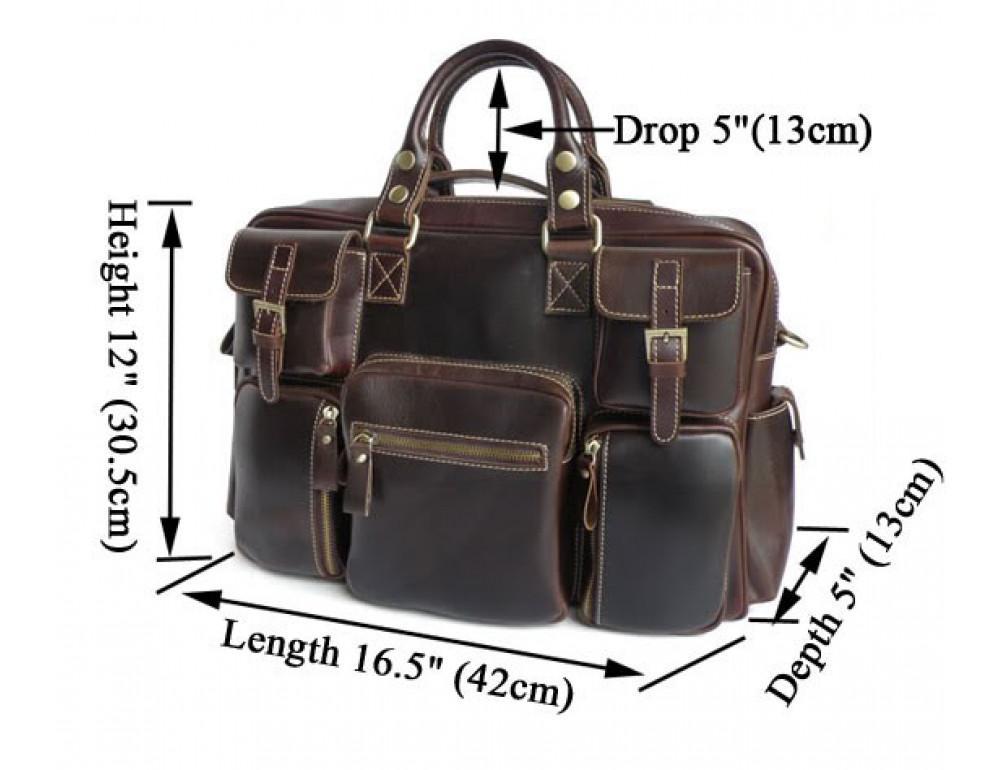 Мужская сумка TIDING BAG 7028X - Фото № 9