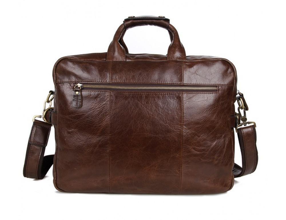 Кожаная сумка через плечо TIDING BAG 7085C - Фото № 6