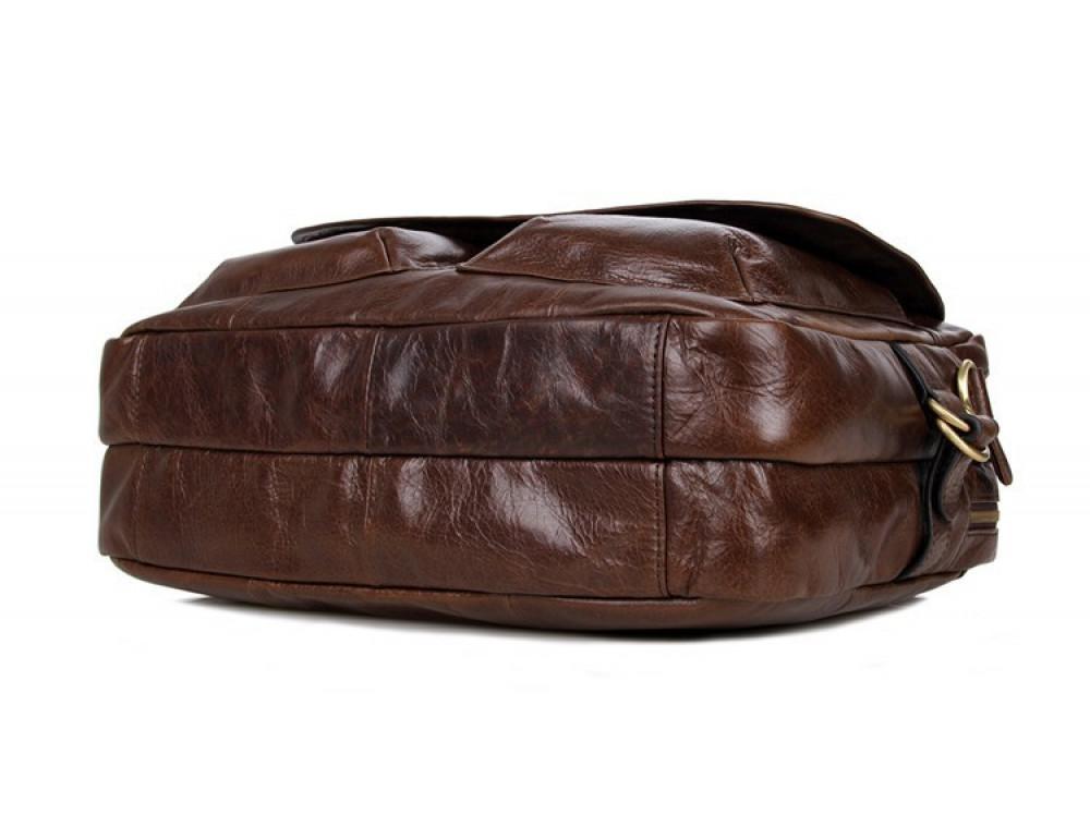 Кожаная сумка через плечо TIDING BAG 7085C - Фото № 9