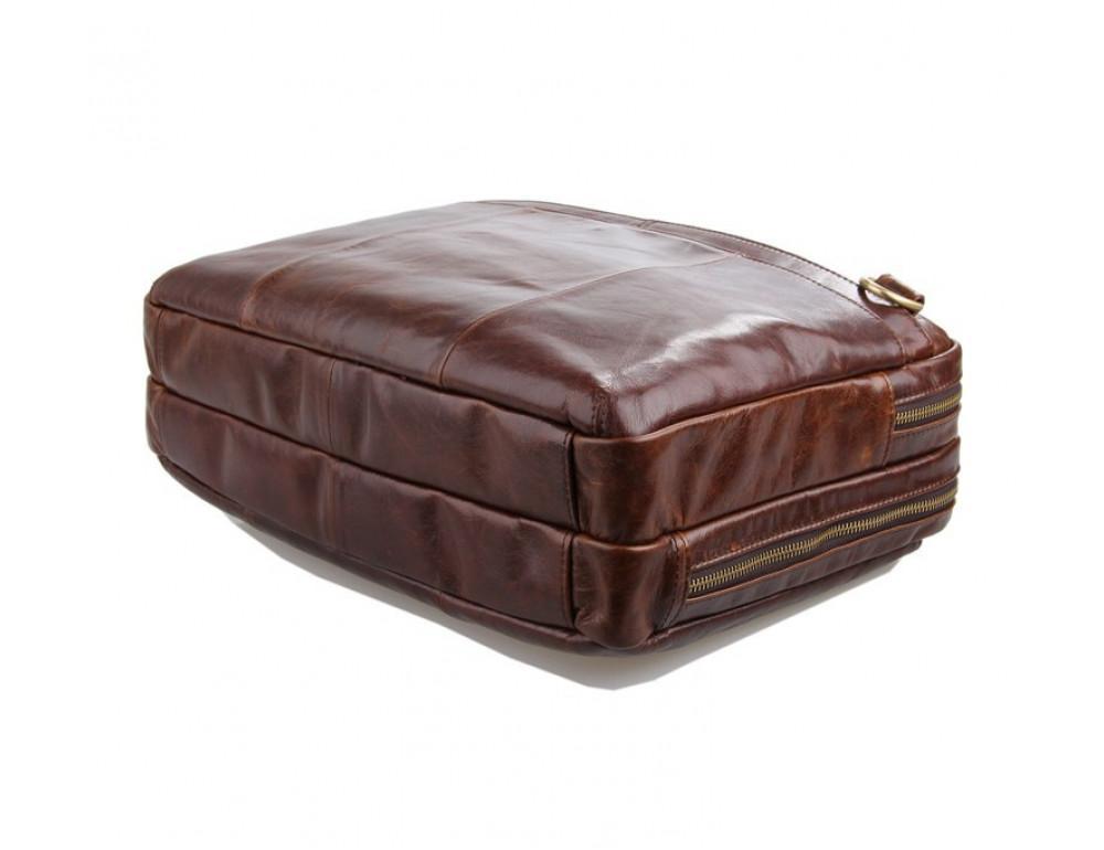 Кожаная сумка через плечо TIDING BAG 7092-2C - Фото № 7