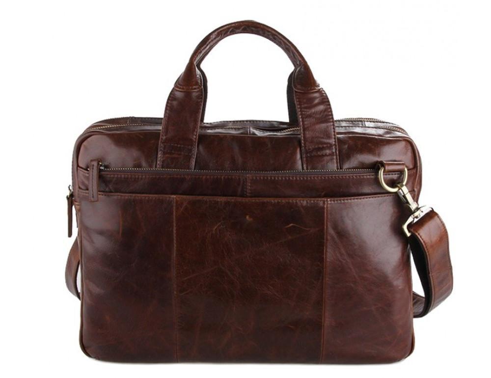 Кожаная сумка через плечо TIDING BAG 7092-2C - Фото № 1