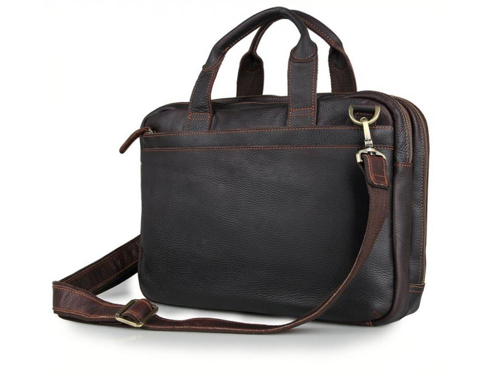 Шкіряна сумка через плече TIDING BAG 7092Q