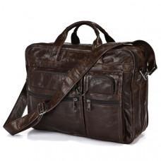 Кожаная сумка через плечо JASPER & MAINE 7093Q