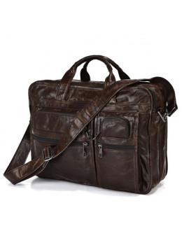 Шкіряна сумка через плече JASPER & MAINE 7093Q