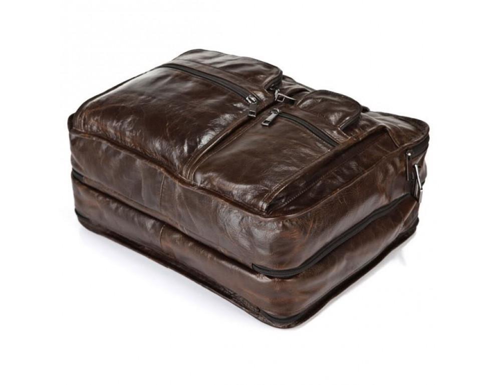 Кожаная сумка через плечо JASPER & MAINE 7093Q - Фото № 7