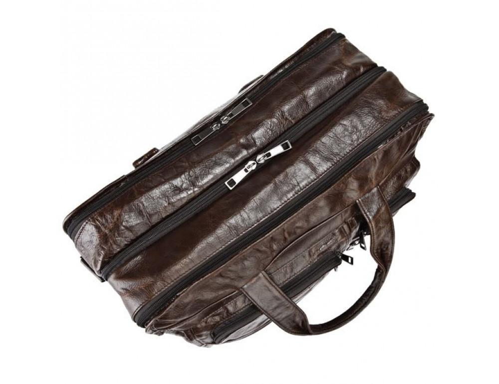 Кожаная сумка через плечо JASPER & MAINE 7093Q - Фото № 6