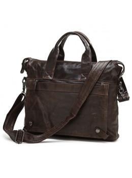 Кожаная сумка для ноутбука JASPER & MAINE 7120C
