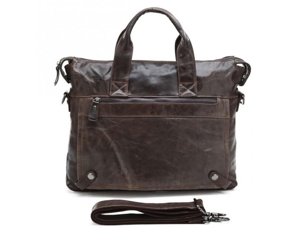 Кожаная сумка для ноутбука JASPER & MAINE 7120C - Фото № 2
