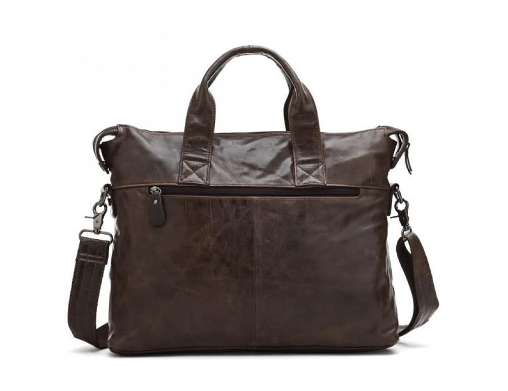 Кожаная сумка для ноутбука JASPER & MAINE 7120C - Фото № 3