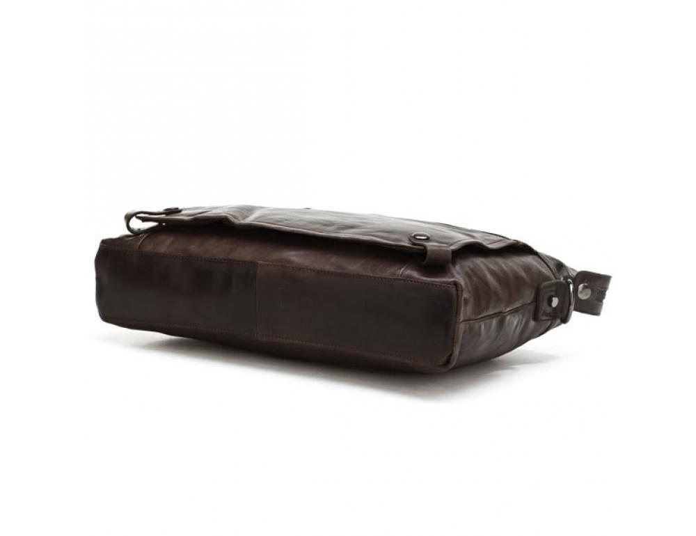 Кожаная сумка для ноутбука JASPER & MAINE 7120C - Фото № 7