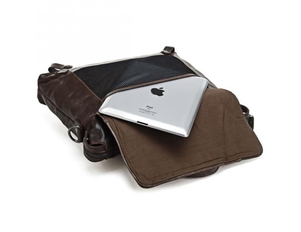 Кожаная сумка для ноутбука JASPER & MAINE 7120C - Фото № 5