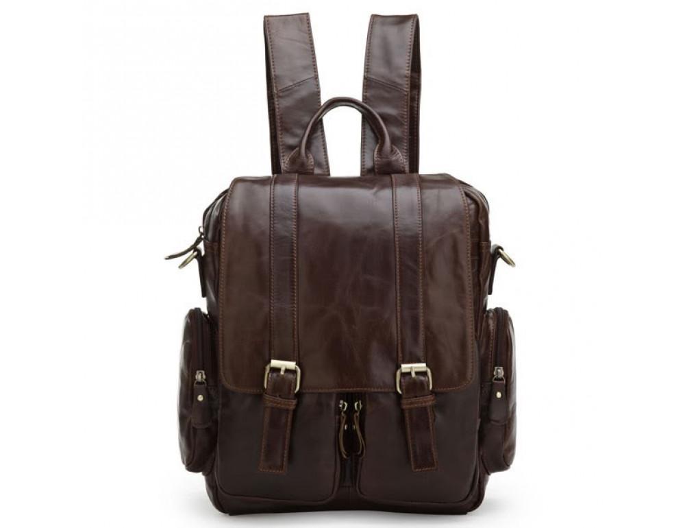 Кожаный рюкзак TIDING BAG 7123C