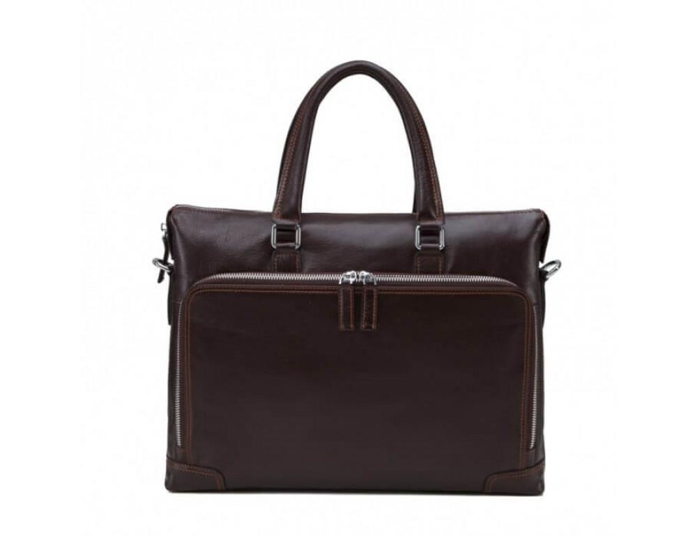 Мужская кожаная сумка TIDING BAG NM17-9065-5C - Фото № 2