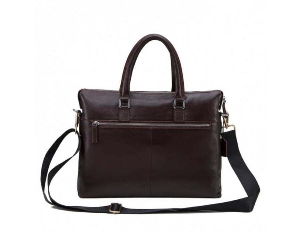 Мужская кожаная сумка TIDING BAG NM17-9065-5C - Фото № 3