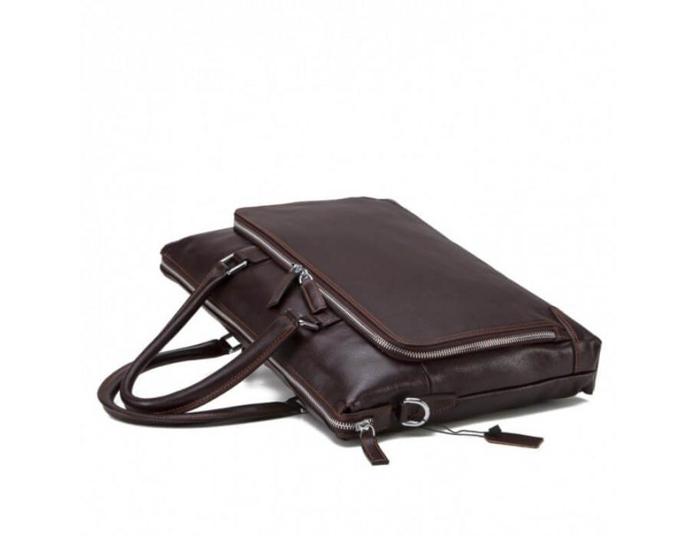 Мужская кожаная сумка TIDING BAG NM17-9065-5C - Фото № 4
