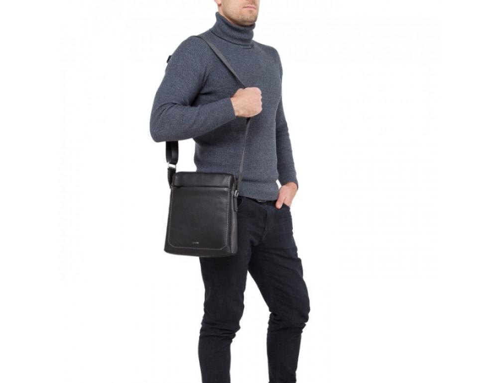 Мужской кожаный мессенджер TIDING BAG NM17-9069-2A - Фото № 3