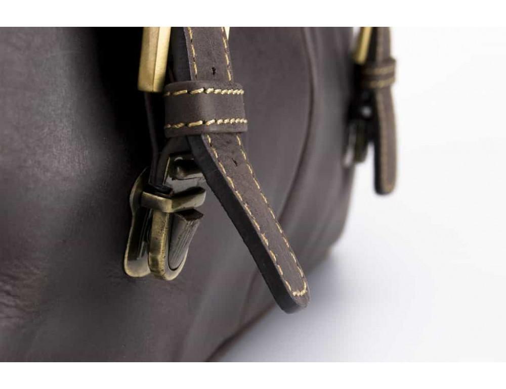 Кожаный Портфель Visconti 18716 - Berlin тёмно-коричневый - Фото № 5