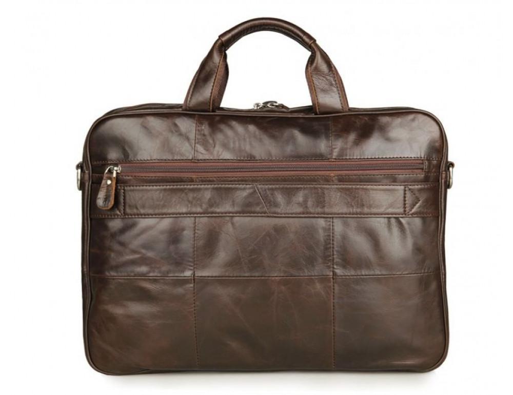 Чоловік шкіряний портфель JASPER-MAINE 7334Q - Фотографія № 2