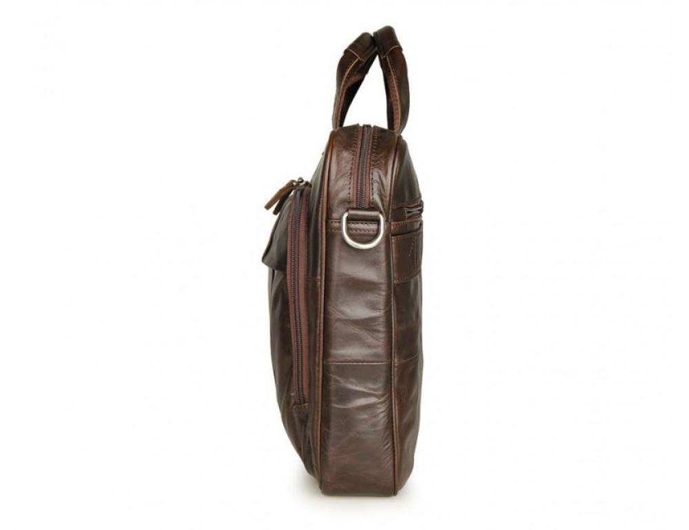 Чоловік шкіряний портфель JASPER-MAINE 7334Q - Фотографія № 3