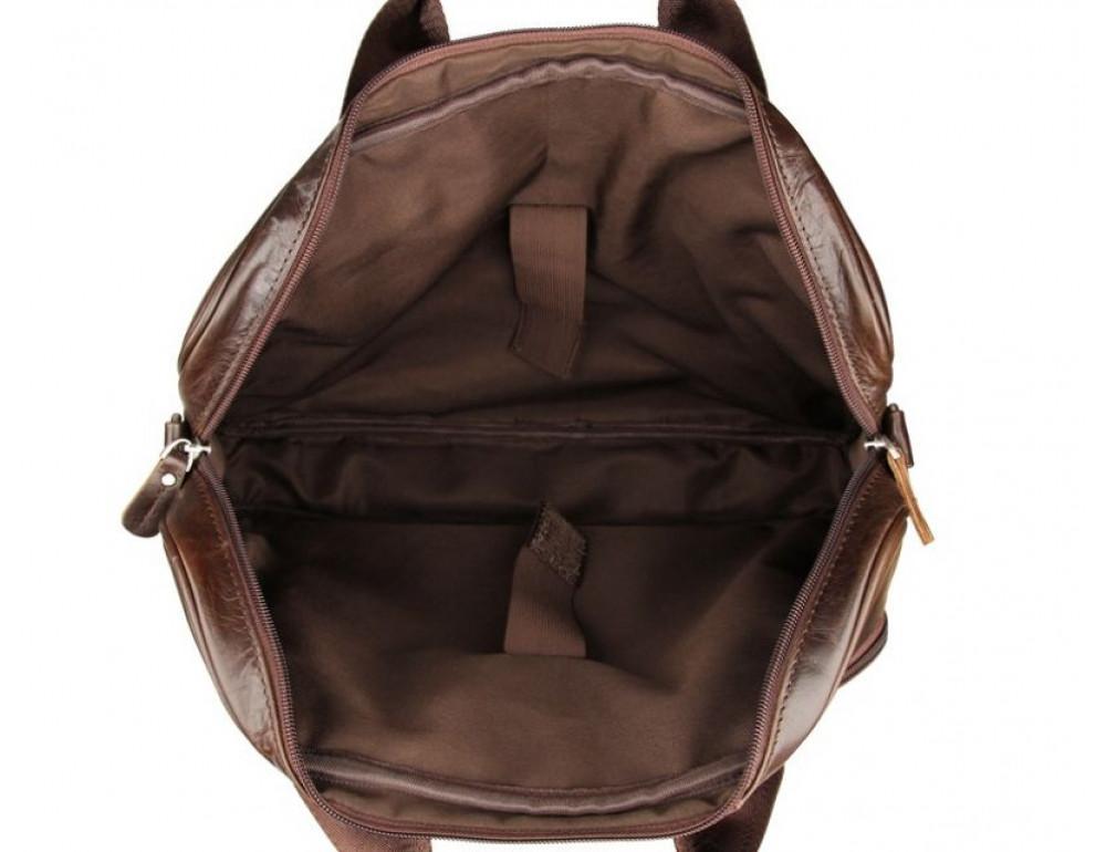 Чоловік шкіряний портфель JASPER-MAINE 7334Q - Фотографія № 7