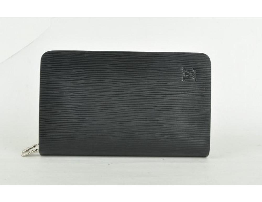 Кожаный клатч Louis Vuitton Lvk003wave - Фото № 7