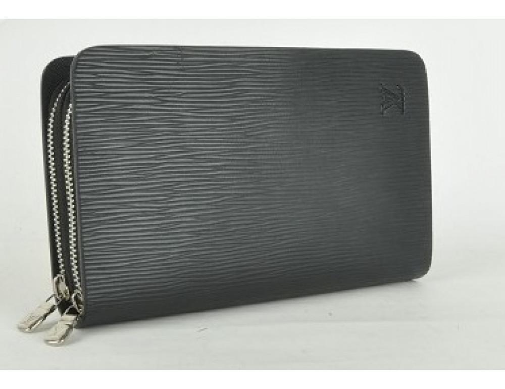 Кожаный клатч Louis Vuitton Lvk003wave - Фото № 4