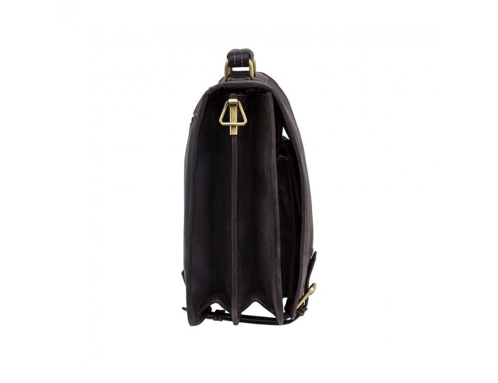Кожаный портфель 16134XL - Hulk тёмно-коричневый - Фото № 7