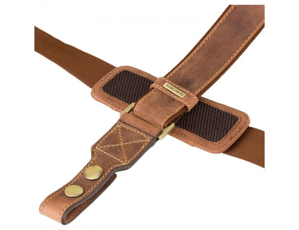 Кожаный портфель 16134XL oil tan - Hulk коричневый - Фото № 7