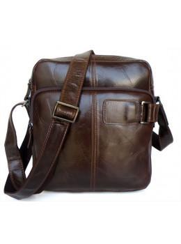 Мужская кожаная сумка через плечо TIDING BAG 6012