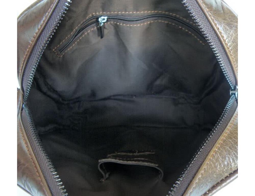 Мужская кожаная сумка через плечо TIDING BAG 6012 - Фото № 3