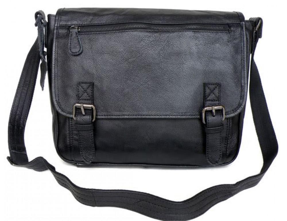 Кожаная сумка через плечо TIDING BAG  6046 - Фото № 8