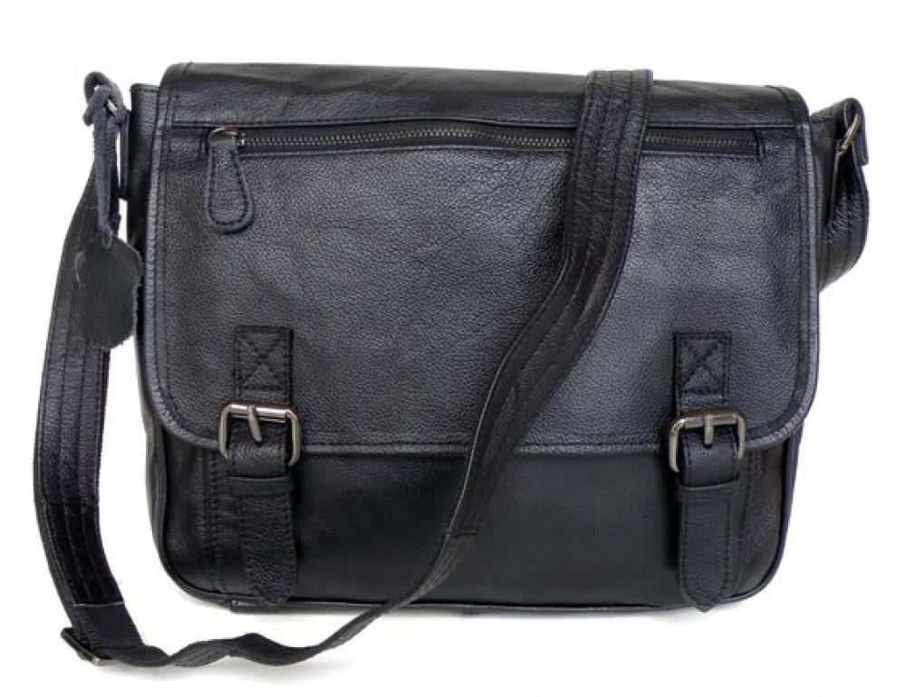 Кожаная сумка через плечо TIDING BAG  6046 - Фото № 7