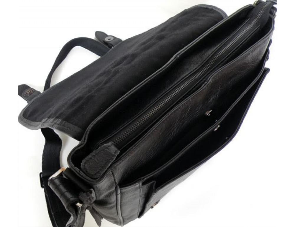 Кожаная сумка через плечо TIDING BAG  6046 - Фото № 4