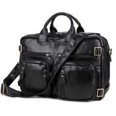 Шкіряна сумка-рюкзак JASPER & MAINE 7026A