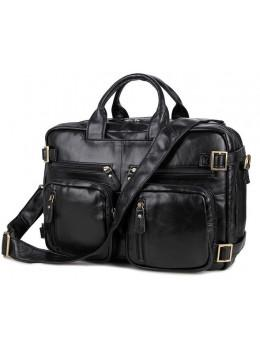 Кожаная сумка-рюкзак JASPER & MAINE 7026A