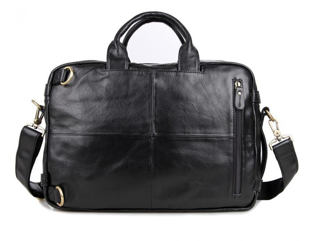 Кожаная сумка-рюкзак JASPER & MAINE 7026A - Фото № 5