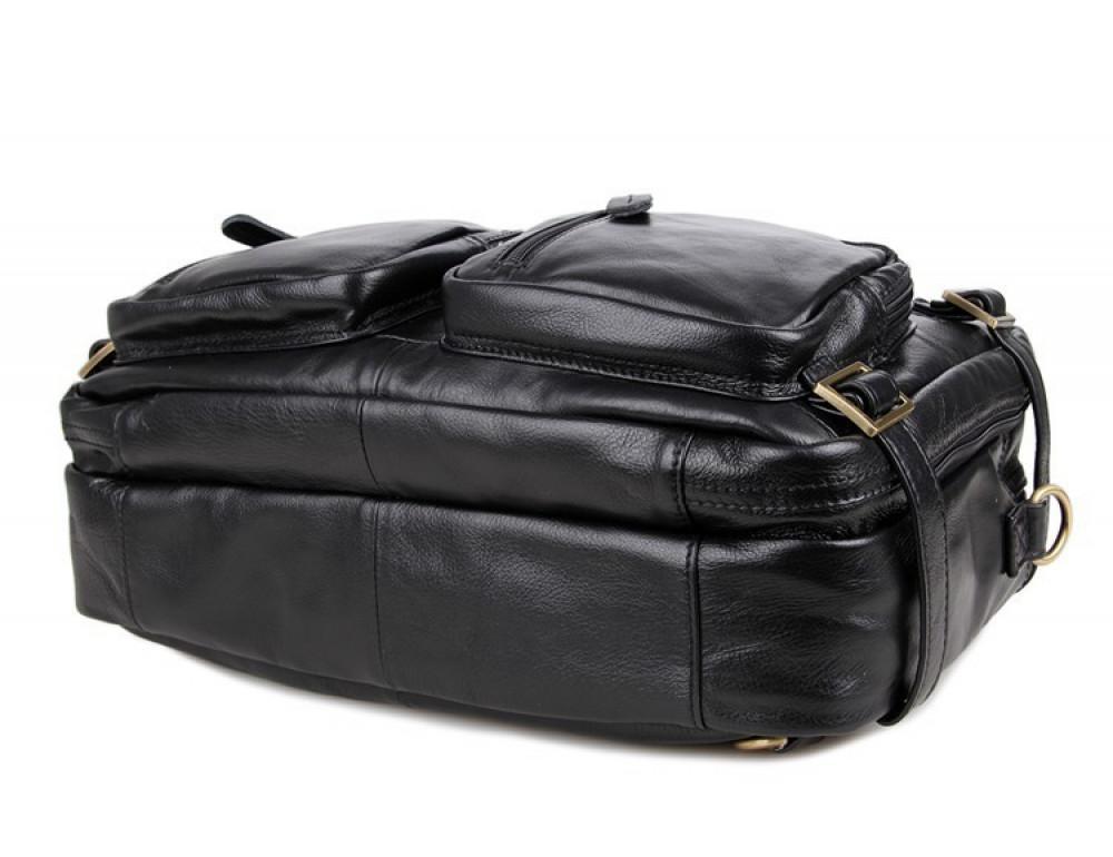 Кожаная сумка-рюкзак JASPER & MAINE 7026A - Фото № 4